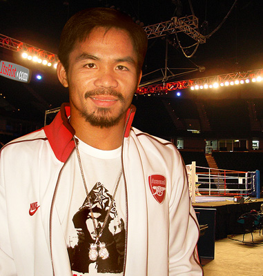 Manny Pacman Pacquiao with Luccello Jewelry