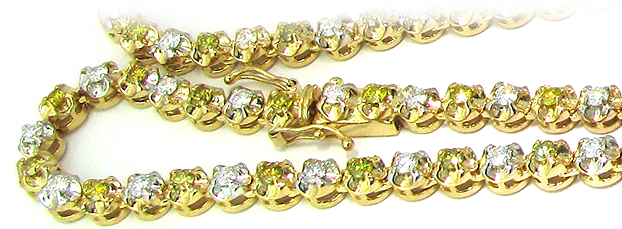 Custom diamond chain