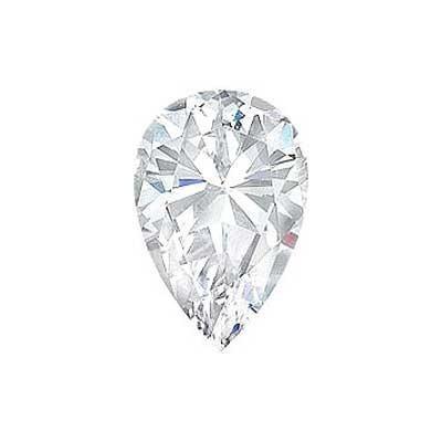 1CT. PEAR CUT DIAMOND F SI2