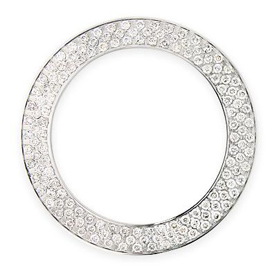 3 Row Diamond Watch Bezel for Joe Rodeo Junior Model 6ct