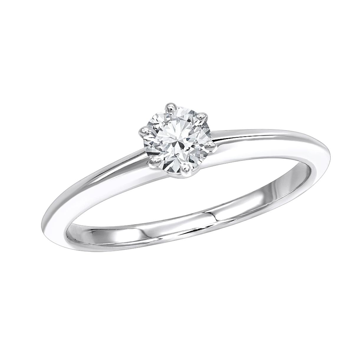 Authentic Tiffany & Co Platinum Diamond Engagement Ring 0.32ct