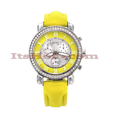 Benny and Co Watch Diamond Womens Watch 1.5ct Yellow