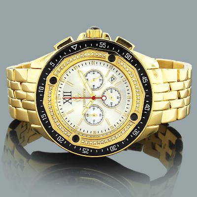 Centorum Watches: Designer Diamond Watch 0.55ct