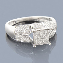Affordable Diamond Engagement Ring 0.34ct