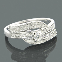 Affordable Engagement Rings 14K Gold Diamond Ring .39ct
