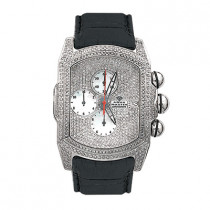 Aqua Master Iced Out Watches Mens Bubble Watch 7.00ct