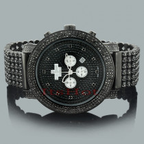 Black Diamond Watches: ICE TIME Crown Mens Watch 14ct