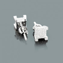 Discount Diamond Earrings Studs in 10K Gold 1/2ct