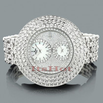 Hip Hop Watches: Ice time Mens Diamond Watch 2.00ct