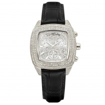 JOE RODEO Diamond Watches: Chelsea Iced Out Watch 5ct