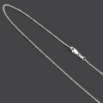 Ladies 18 Karat Solid Gold Chain 16 to 18 inches long