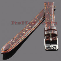 Leather Watch Bands: Joe Rodeo Watch Strap 14mm Brown