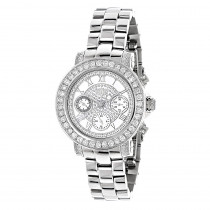 Luxurman Watches Ladies Diamond Watch 3ct