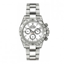 Mens ROLEX Daytona Oyster Watch Perpetual White