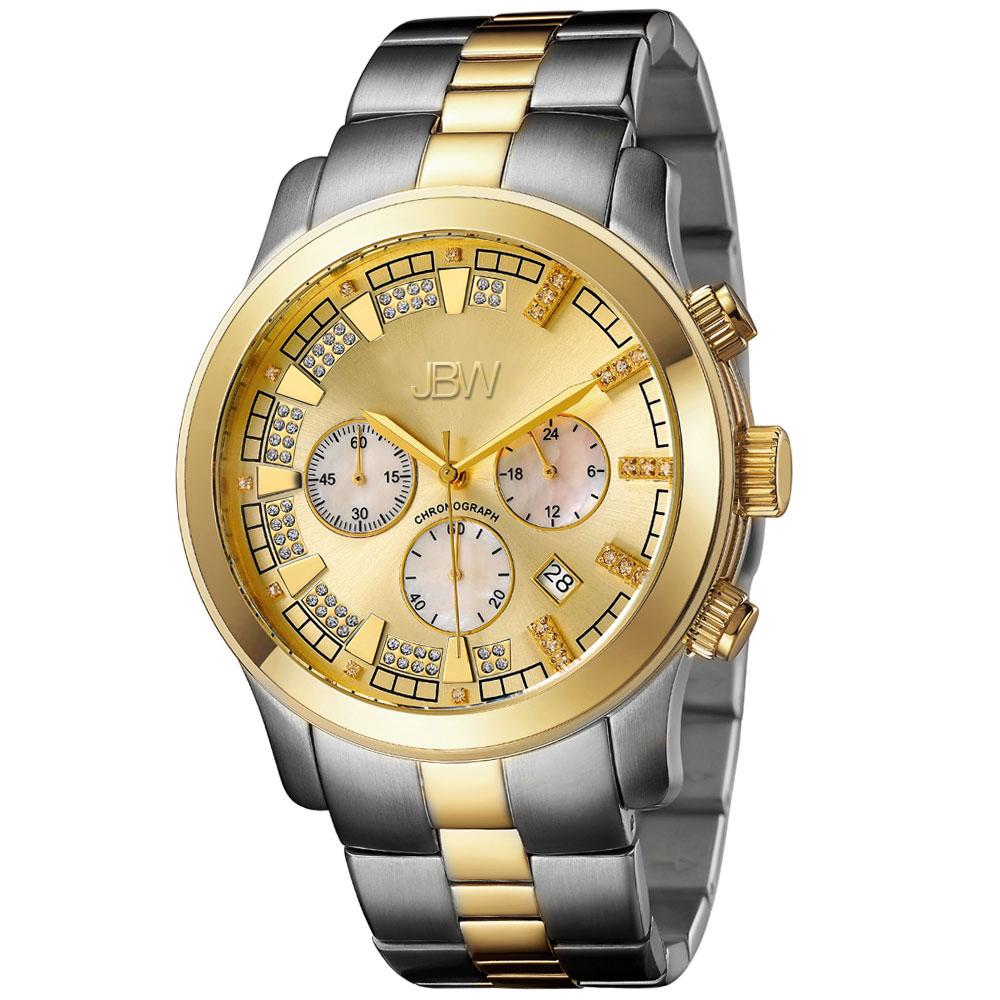 JBW Watches DELANO Men's Diamond Watch JB-6218-C